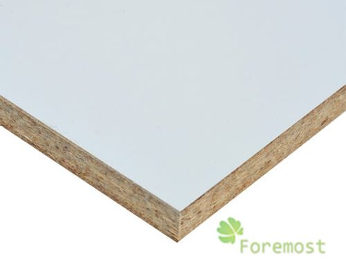 Melamine pb melamine particle board foremost trade for Particle board laminate finish